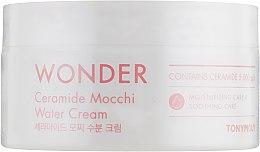 Духи, Парфюмерия, косметика Увлажняющий крем для лица с керамидами - Tony Moly Wonder Ceramide Mocchi Water Cream