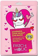 Духи, Парфюмерия, косметика Патчи для глаз - Patch Holic Costopia Love Heart Eye Mask