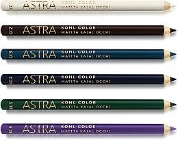 Духи, Парфюмерия, косметика Цветной карандаш-каял для глаз - Astra Make-up Kohl Color Kajal