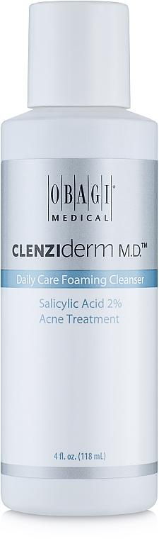 Очищающее средство для лица - Obagi Medical CLENZIderm M.D. Daily Care Foaming Cleanser Salicylic Acid 2%