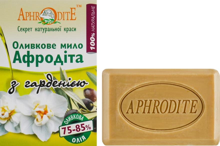 Оливковое мыло с ароматом гардении - Aphrodite Olive Oil Soap With Gardenia