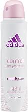 Парфумерія, косметика Дезодорант - Adidas Anti-Perspirant Control Ultra Protection 48h