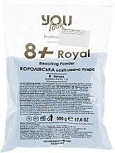 Духи, Парфюмерия, косметика Осветляющая пудра - You Look Professional 8+ Royal Bleaching Powder