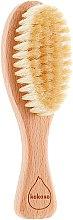 Духи, Парфюмерия, косметика Деревянная щетка для волос из натуральной щетины - Kokoso Baby Natural Baby Hairbrush