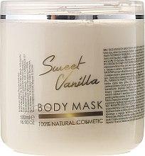 """Духи, Парфюмерия, косметика Маска для лица и тела """"Сладкая ваниль"""" - Hristina Cosmetics Sezmar Professional Body Mask Sweet Vanilla"""