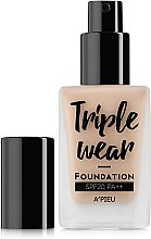 Духи, Парфюмерия, косметика Тональная основа - A'Pieu Triple Wear Foundation SPF20 PA++