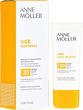Духи, Парфюмерия, косметика Солнцезащитный крем для лица - Anne Moller Age Sun Resist Protective Face Cream SPF30