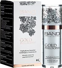 Духи, Парфюмерия, косметика Пептидный бустер от морщин - Bandi Professional Gold Philosophy Wrinkle Reducing Peptide Booster