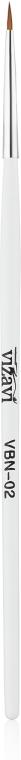 Кисть для росписи №02 - Vizavi Professional