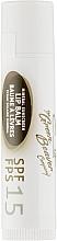Духи, Парфюмерия, косметика Кокосовый бальзам для губ с защитой SPF 15 - Green Beaver Lip Balm Spf 15 Coconut