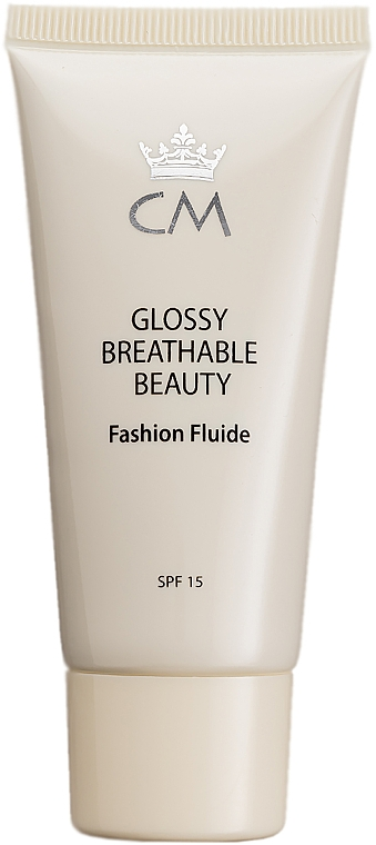 Тональный крем-флюид - Color Me Glossy Breathable Beauty
