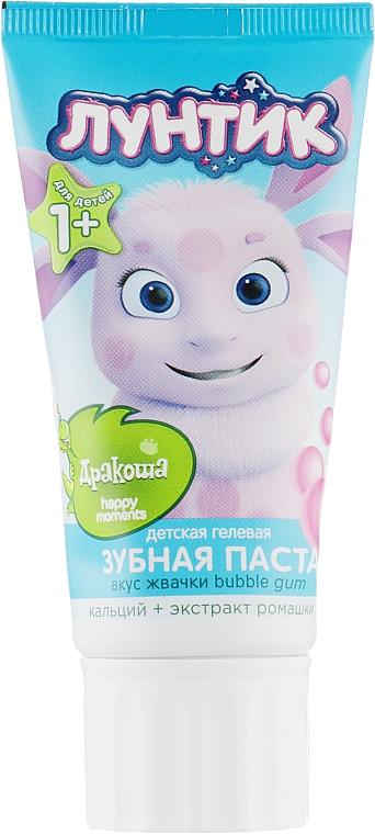 """Детская зубная паста """"Bubble Gum"""" - Happy Moments Дракоша"""