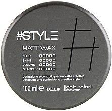 Духи, Парфюмерия, косметика Матовый воск для волос - Dott. Solari Style Matt Wax