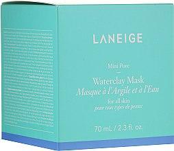 Духи, Парфюмерия, косметика Минеральная глиняная маска с мятной водой - Laneige Mini Pore Waterclay Mask