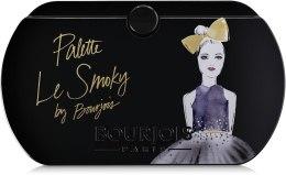Палетка теней для век - Bourjois Palette Le Smoky — фото N2