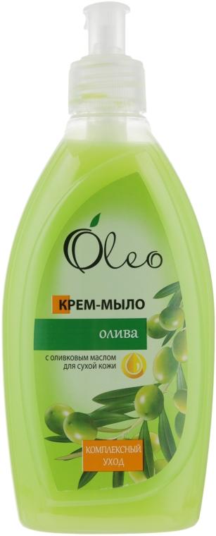 "Крем-мыло для сухой кожи ""Олива"" - Oleo"