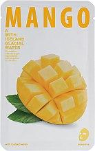 """Духи, Парфюмерия, косметика Тканевая маска для сияния кожи лица """"Манго"""" - The Iceland Mango Mask"""