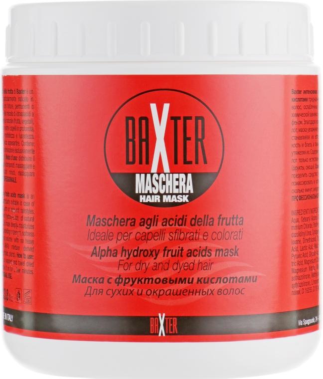Маска для волос с фруктовыми кислотами - Punti di Vista Baxter Maschera Hair Mask