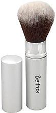 Духи, Парфюмерия, косметика Кисть для макияжа - Sefiros Silver Retractable Brush