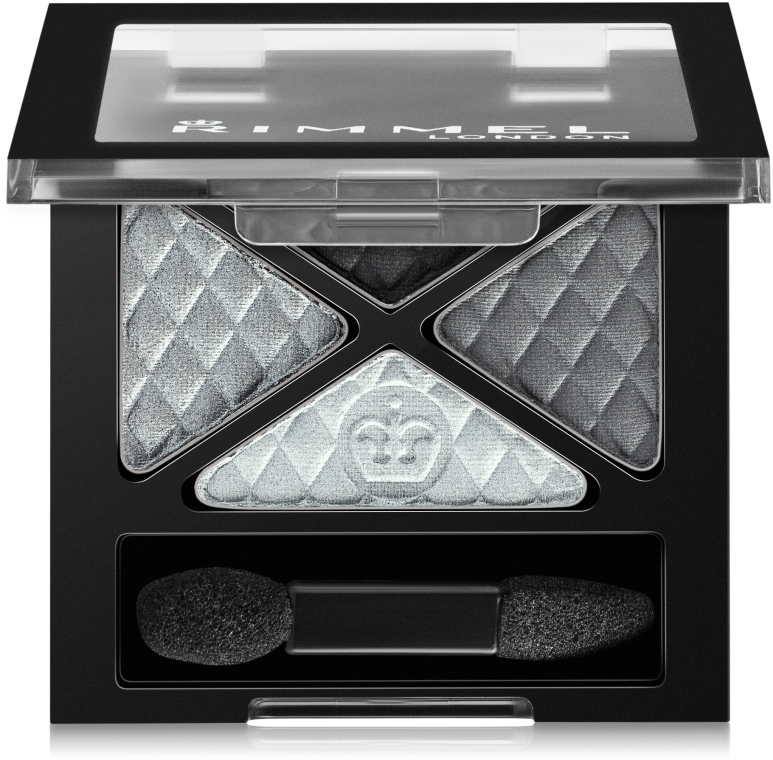 Тени для век - Rimmel Glam'Eyes Quad Eyeshadow