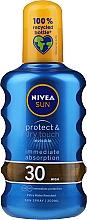 "Спрей освіжаючий сонцезахисний"" SPF 30 - Nivea Sun Care Invisible Protection Spray — фото N1"