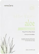 Духи, Парфюмерия, косметика Тканевая маска для лица с экстрактом алоэ - Veraclara Aloe Face Mask