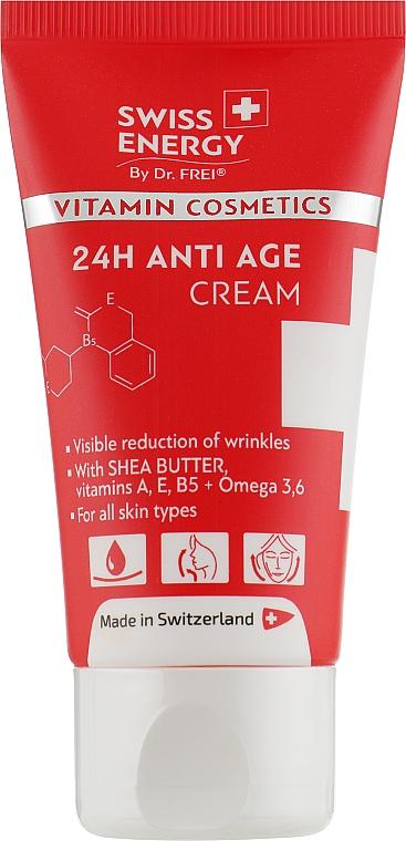 Анти-возрастной крем для лица - Swiss Energy 24 Anti Age Cream