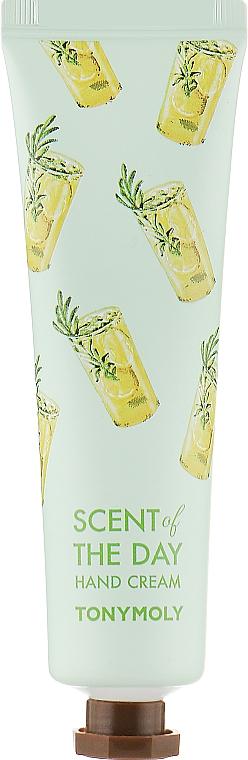 Крем для рук с мандарином, лаймом, лимоном и вербеной - Tony Moly Scent Of The Day Hand Cream So Fresh