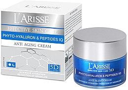 Парфумерія, косметика Крем з гіалуроновою кислотою і пептидами 45+ - Ava Laboratorium L'Arisse 5D Anti-Wrinkle Cream Phytohyaluron + Peptides