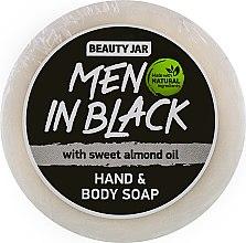 "Духи, Парфюмерия, косметика Мыло мужское для рук и тела ""Men In Black"" - Beauty Jar Hand & Body Soap"