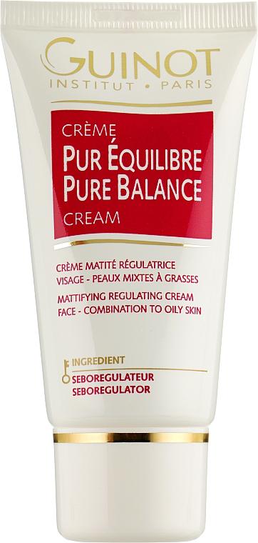 Балансирующий крем для жирной кожи лица - Guinot Creme Pur Equilibre