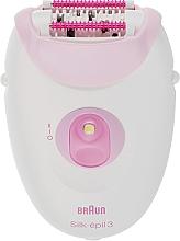 Духи, Парфюмерия, косметика Эпилятор - Braun SE 3270 Pink