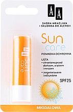 """Духи, Парфюмерия, косметика Бальзам для губ """"Медовый"""" - AA Cosmetics Sun Care Protective Lipstick SPF 25"""