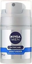 Крем против старения кожи - Nivea For Men Aktive Age Moisturiser Cream — фото N2