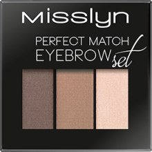 Тени для бровей - Misslyn Eyebrows Perfect Match — фото N1