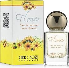 Духи, Парфюмерия, косметика Carlo Bossi Flower Yellow - Парфюмированная вода (миниатюра)
