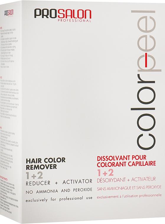 Смывка для удаления стойких красок - Prosalon Color Peel Hair Remover