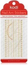 Духи, Парфюмерия, косметика Наклейка для дизайна ногтей - Kodi Professional Nail Art Stickers FL022