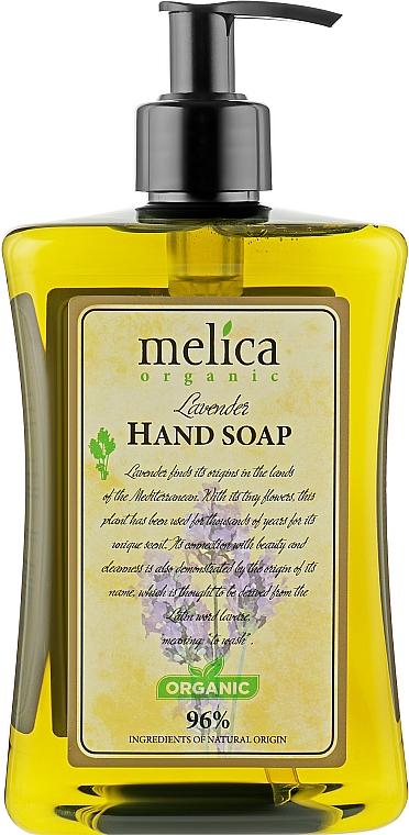 Жидкое мыло с запахом лаванды - Melica Organic Lavander Liquid Soap