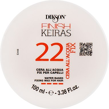 Водный фиксирующий воск для волос - Dikson Finish Keiras 22 Water Based Fixing Wax For Hair — фото N1