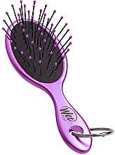 Духи, Парфюмерия, косметика Расческа для волос - Wet Brush Metallic Key Chain Purple