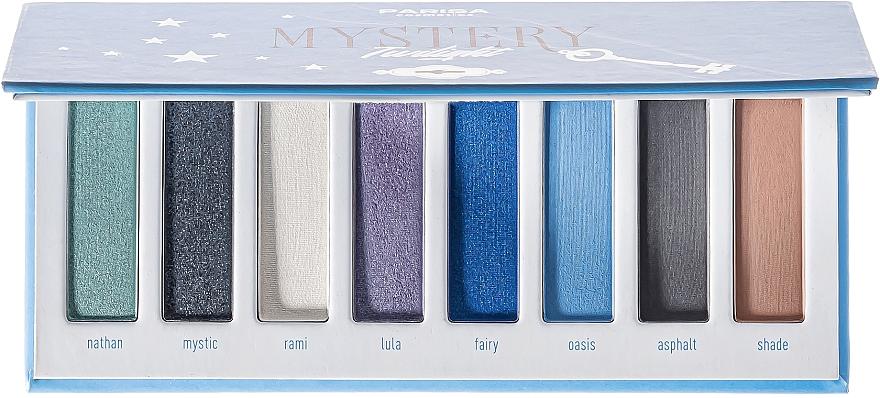 Палетка теней для век, 8 оттенков - Parisa Cosmetics Mystery Twilight