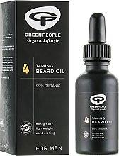 4 Масло для бороды - Green People For Men 4 Taming Beard Oil  — фото N1