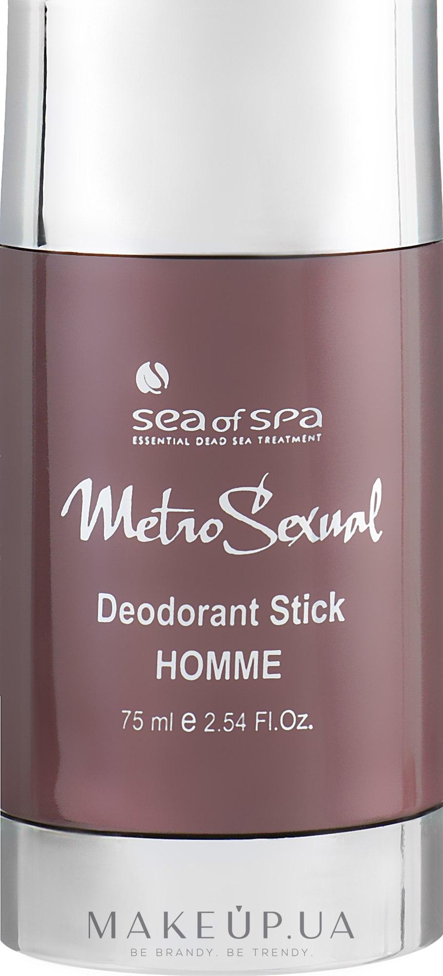 Дезодорант-стік - Sea Of Spa MetroSexual Bio-Mimetic Deodorant Stick Homme — фото 75ml