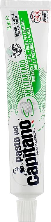 """Зубная паста """"Против зубного камня"""" - Pasta Del Capitano Toothpaste"""