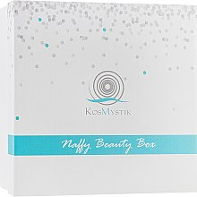 Духи, Парфюмерия, косметика Набор - Kosmystik Naffy Beauty Box (sham/200ml+cond/200ml+b/lotion/200ml+f/cr/25ml+f/cr/25ml)
