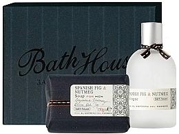 Духи, Парфюмерия, косметика Bath House Spanish Fig and Nutmeg - Набор (edc/100ml + soap/150g)