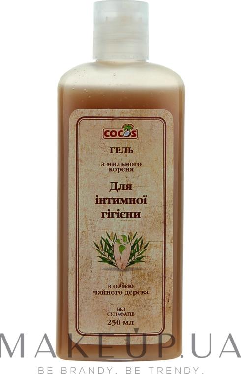 Гель для интимной гигиены из мыльного корня и чайного дерева - Cocos Shower Gel