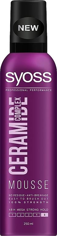 """Мусс для волос """"Ceramide Complex"""", максимально сильная фиксация - Syoss Ceramide Complex"""