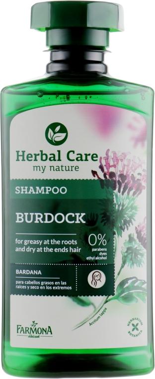 """Шампунь для волос """"Репейный"""" - Farmona Herbal Care Shampoo"""
